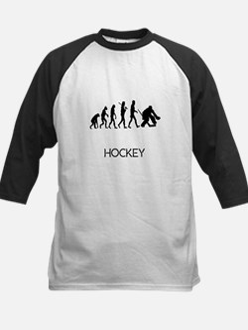 Hockey Goalie Evolution Baseball Jersey