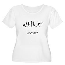Hockey Evolution Plus Size T-Shirt