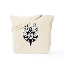 Unique On wheels Tote Bag