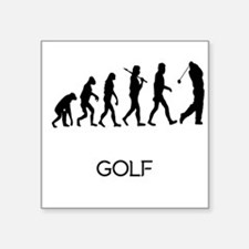 Golf Evolution Sticker