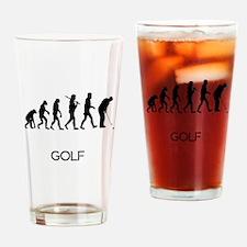 Golf Putt Evolution Drinking Glass
