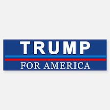 Trump For America Bumper Bumper Bumper Sticker