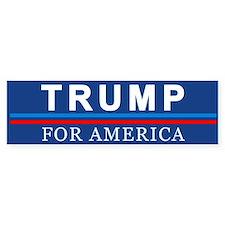 Trump For America Bumper Bumper Sticker