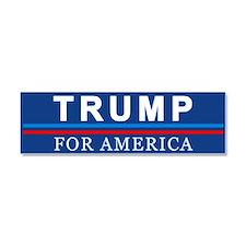 Trump For America Car Magnet 10 X 3