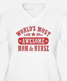 Awesome Mom and N T-Shirt