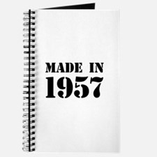 Made in 1957 Journal