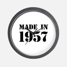 Made in 1957 Wall Clock