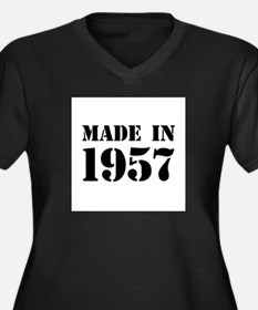 Made in 1957 Plus Size T-Shirt