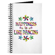 Happiness is Line Dancing Journal