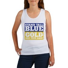 Stand Tall, Blue Tank Top