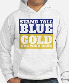 Stand Tall, Blue Hoodie