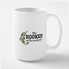 Hooker on the Weekends Mugs