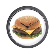Cheeseburger Wall Clock