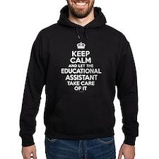 Educational Assistant Keep Calm Hoodie