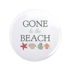 Gone To Beach Button