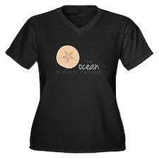 The Ocean Plus Size T-Shirt