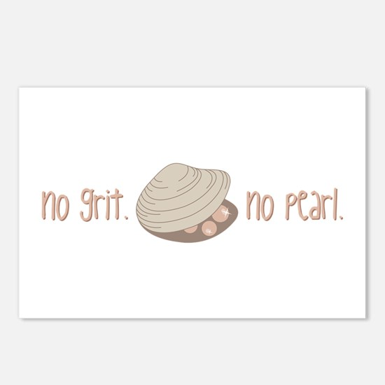 No Pearl Postcards (Package of 8)
