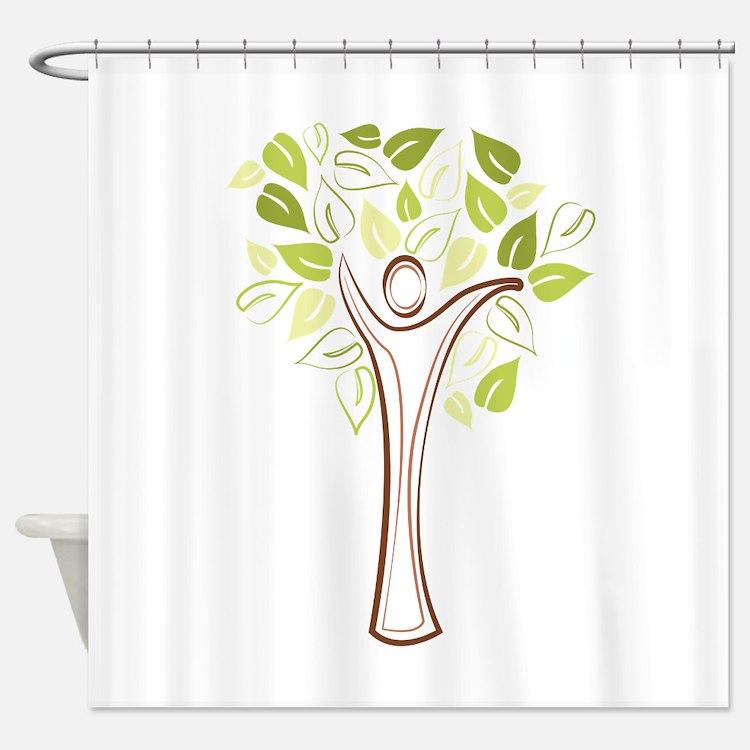 Family Tree Shower Curtain