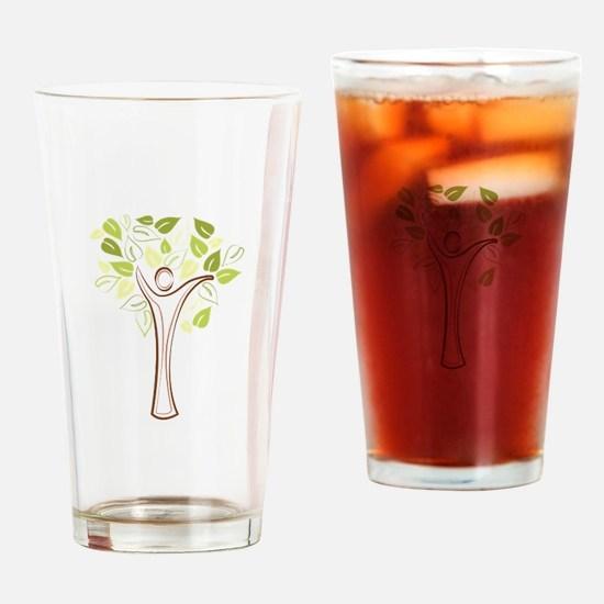 Family Tree Drinking Glass