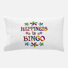 Happiness is Bingo Pillow Case