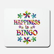 Happiness is Bingo Mousepad