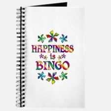 Happiness is Bingo Journal