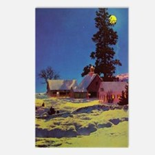 Moonlight by Maxfield Parrish