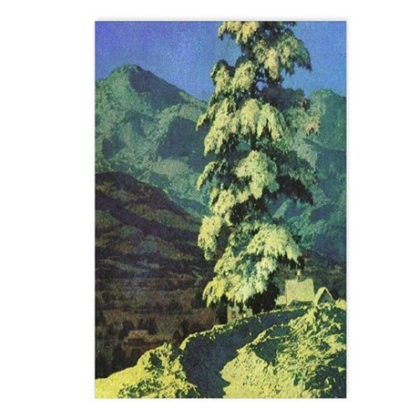 The Road in Winter Postcards (Pk of 8)