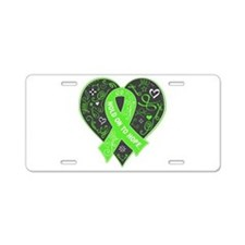 Lymphoma HOPE Aluminum License Plate