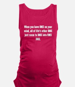 BMX On Your Mind Maternity Tank Top