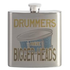 Drummers Have Bigger Heads Flask