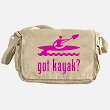 got kayak? Messenger Bag