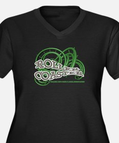 Youtube channel Roller Coaster G Plus Size T-Shirt