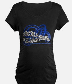 Youtube channel Roller Coaster B Maternity T-Shirt