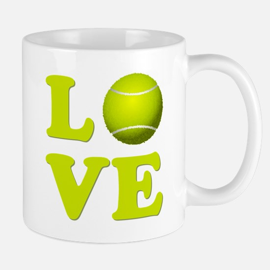 I Love Tennis Mugs