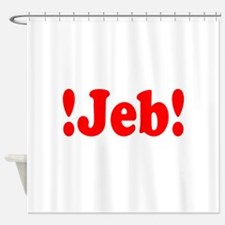 Latinos for Jeb Bush 2016 Shower Curtain