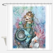 love eternal 16 x 20 cp.png Shower Curtain