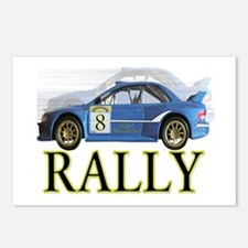 ...Rally Blue... Postcards (Package of 8)