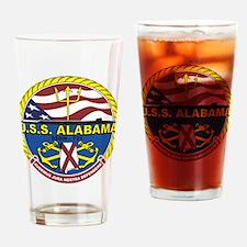 Uss Alabama Ssbn 731 Drinking Glass