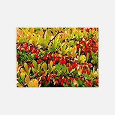 Fruit Tree 5'x7'Area Rug
