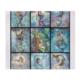 Mermaid Fleece Blankets