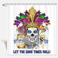 King Of Time 1mm Shower Curtain
