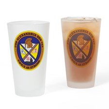 Uss Alexandria Ssn 757 Drinking Glass