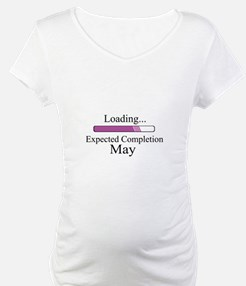 Baby Girl Loading Expected May Shirt
