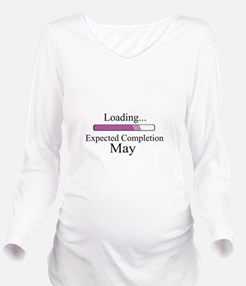 Baby Girl Loading Ex Long Sleeve Maternity T-Shirt