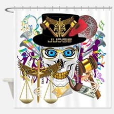 Mardi Gras Judge G Shower Curtain