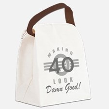 Making 40 Look Good Canvas Lunch Bag