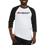 Love Croquet Baseball Jersey