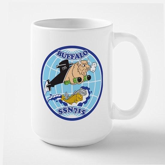 USS Buffalo SSN 715 Mugs