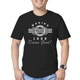 Funny 50th birthday Fitted T-shirts (Dark)